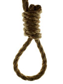 hangman noose on own