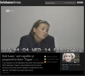 Lies damn lies and Keli Lane