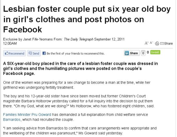... posts any pictures of their own children on social networking sites?