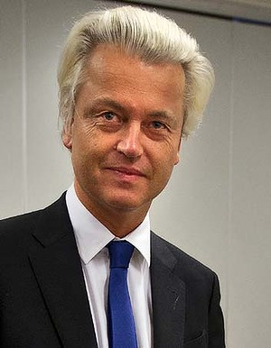 Dutch MP Geert Wilders. Photo: AFP