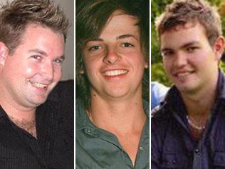 Matthew Fuller, Rueben Barnes and Mitchell Sweeney.