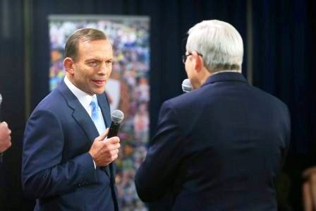 """Does this guy ever shut up"" ain't a good slogan, Tony. To start with, it's more than threee words ...."