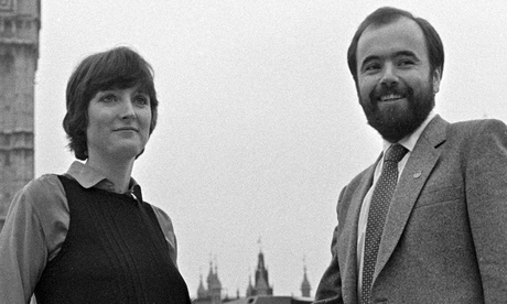 Harriet Harman and Jack Dromey in 1982 Photograph: Pa