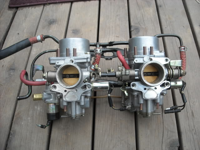 I'm using a set of these instead of fuel injection.