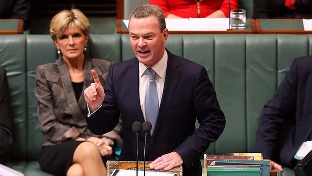 Proposed the idea of collecting HECS debts from the dead as a way to boost the budget bottom line: Education Minister Christopher Pyne. Photo: Andrew Meares Read more: http://www.smh.com.au/federal-politics/political-news/christopher-pyne-suggests-collecting-hecs-debts-from-dead-students-as-way-to-help-budget-20140528-394rx.html#ixzz3337GAkED