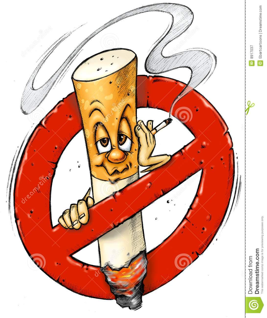 The anti-Smoking cartoon - YouTube