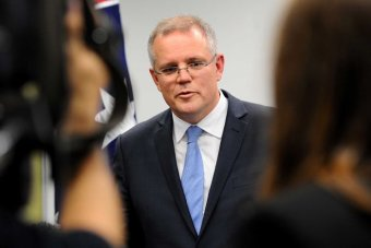 Photo: Scott Morrison released a statement saying 41 asylum seekers were returned to Sri Lanka's navy yesterday. (AAP: Joe Castro)