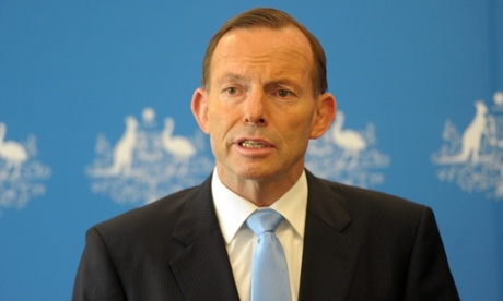Tony Abbott: the operation could take 'many months'. Photograph: Julian Smith/AAP