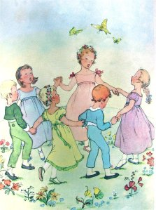 The innocent childhood game of ring around a rosey actually has its origins in the time of the black death.
